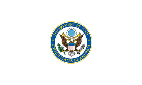 Alpha Omega Customers Department of State Seal